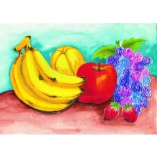 상황표현9 맛있는과일들(동전 문지르기로 표현하는 포도송이)