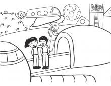 과학상상화6 우주 미술관