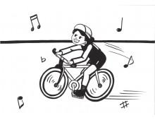 학교행사6 달리는 자전거