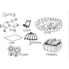 기초드로잉과영어8 Spring