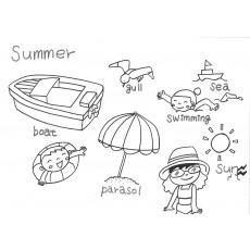 기초드로잉과영어9 Summer