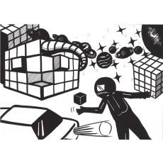 과학상상화10 우주 물품 보관소