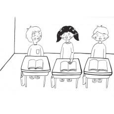 학교행사10 사이좋게 어울리는 교실