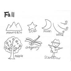 기초드로잉과영어10 Fall