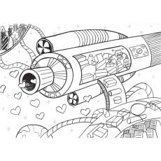 과학상상화11 우주 택배 시스템