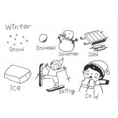 기초드로잉과영어11 Winter