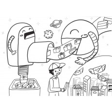 과학상상화13 수화물 자동화 시스템