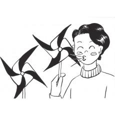 학교행사13 소원 바람개비