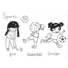 기초드로잉과영어13 Sports-1