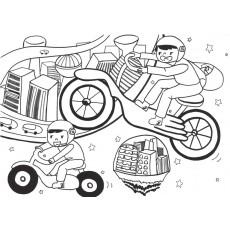 과학상상화14 비행 오토바이