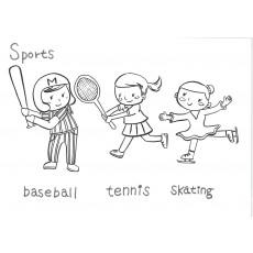 기초드로잉과영어14 Sports-2