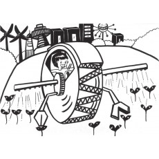과학상상화16 농업 자동화 시스템